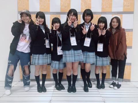 【SKE48】逸材揃いのドラフト3期生が早くも披露!さらに握手も!