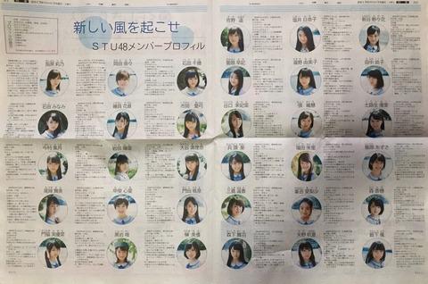 【STU48】広島でのSTUのゴリ推しがすごい