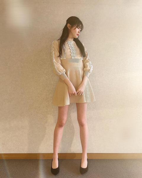 【SKE48】谷真理佳の「美脚」写真にファン興奮「スタイル良すぎ」「最高です」