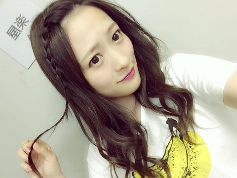 【NMB48】小谷里歩「こんな夜には…、誰かなすびください。」