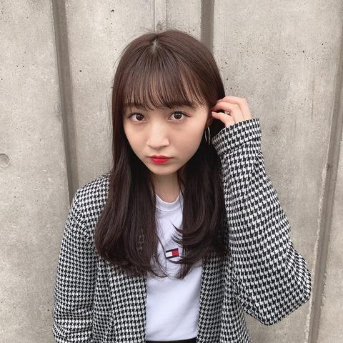 【悲報】NMB48次期エース山本彩加が茶髪になってしまう