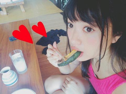 【NGT48】きたりえが食べてるカボチャになりたい(*´Д`)ハァハァ【北原里英】