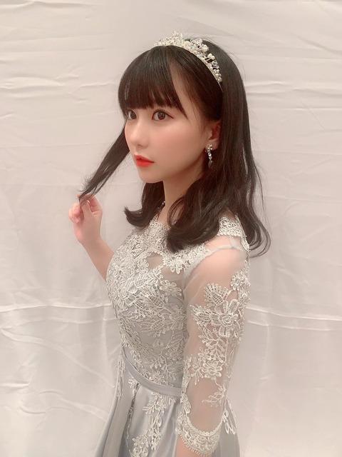 【HKT48】田中美久ちゃん、お●ぱいを露出したくて仕方がない模様w