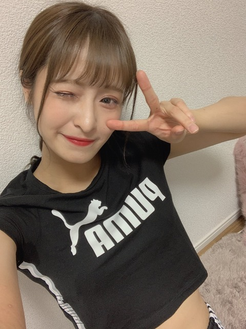 【NMB48】清水里香のインスタライブ筋トレ配信がエロ過ぎるwww【りかてぃー】