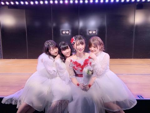 【AKB48】野澤玲奈の卒業公演のコメントが素晴らしすぎる件
