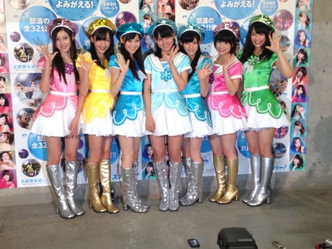 【AKB48G】てんとうむchu、でんでんむchu、ニコニコ ここら辺が全員育っていた場合の今のAKB48選抜