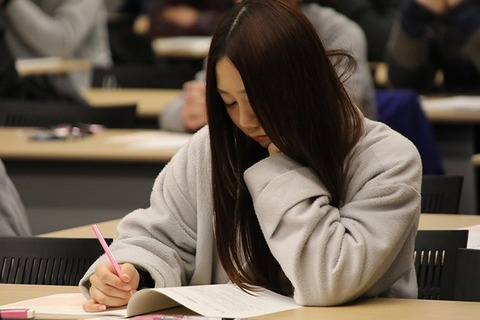 【闇】SKE48古畑奈和がセンター試験の暇潰しに描いた絵が狂気で満ちている