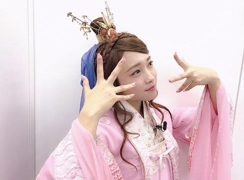 【AKB48G】指原莉乃とテレビでがっぷり四つに組めそうなのが川栄李奈になるとは予想できなかったな