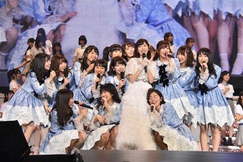 【朗報】ゆいはんがまゆゆ卒コンで豪快なパンチラを撮影されてるwww【AKB48・横山由依】
