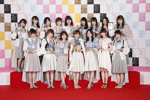【AKB48総選挙】圏内メンバーの集合写真出揃ったけどどのグループがいい?