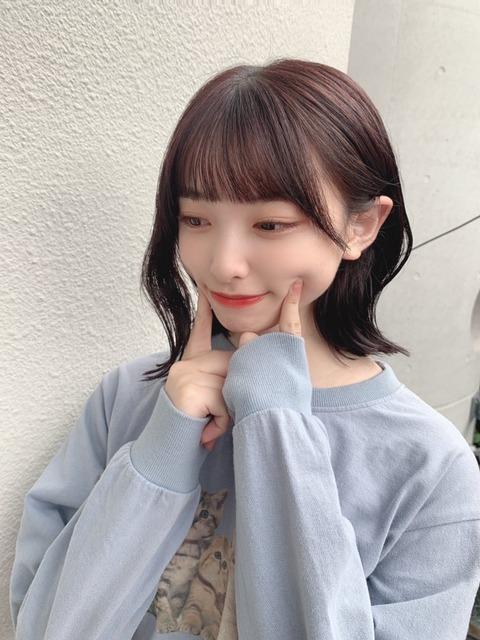 【AKB48】久保怜音髪染めた?