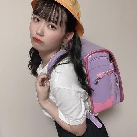 【AKB48】チーム8服部有菜ちゃんがランドセル配信wwwwww