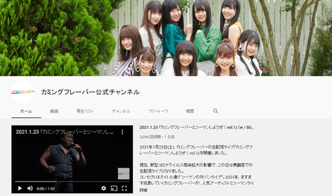 【SKE48】カミフレYouTubeチャンネルが松井珠理奈さんのマネをして登録者数を非表示にしてしまう