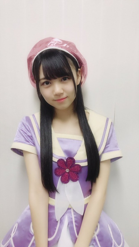 【HKT48】こんなに可愛いタヌキ顔メンを隠してたんか!【村上和叶】
