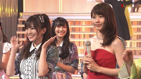 【画像】NHK紅白歌合戦、NMB48の扱いが酷いwwwwww