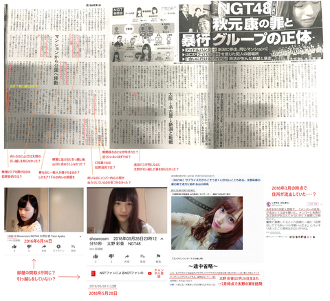 【NGT48暴行事件】AKSと文春の言ってる事どっちも頭沸いてて草www