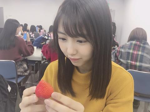 【SKE48】可愛い子といちごの組み合わせって最強だよな【熊崎晴香】