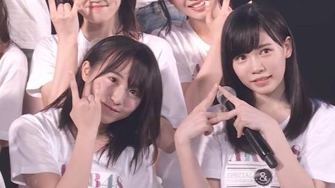 【AKB48】坂口渚沙 vs 運上弘菜【HKT48】