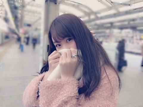 【AKB48】達家真姫宝「#彼女と電車待ちなう に使っていいよ」
