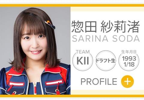 【SKE48】惣田紗莉渚「さりの新しいプロフィール写真です!どうかな…?」