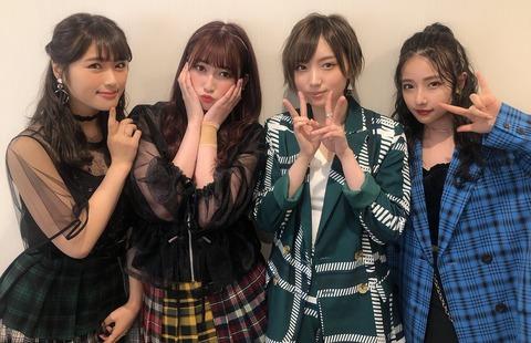 【疑問】NMB48の女子力ユニット「Queentet」は11月30日で自然消滅したの?