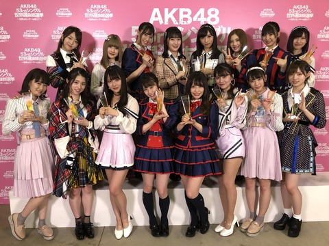 AKB48グループ感謝祭~ランクインコンサート~、お出迎えレーン発表