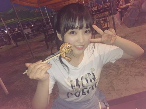 【朗報】奈子ちゃんの可愛さが人類未踏の領域に到達!!!【HKT48・矢吹奈子】