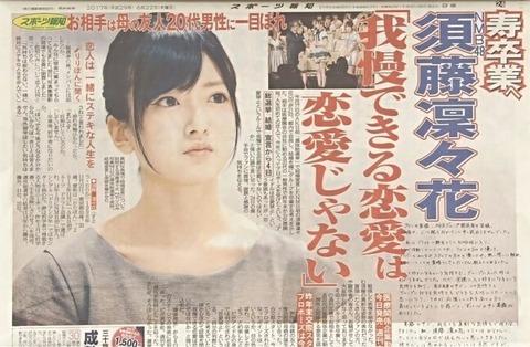 【NMB48】須藤凜々花は結局「卒業発表」したの?してないの?