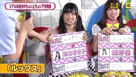 【AKB48】田北香世子「入山杏奈のルックスは私よりちょい上程度」