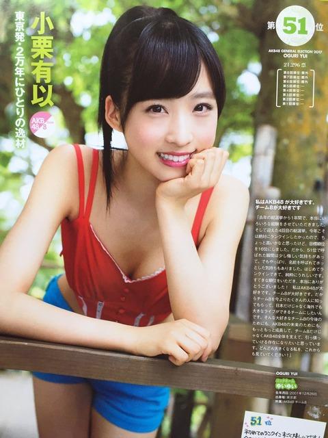 【AKB48】こんな小栗有以は嫌だ!【大喜利スレ】