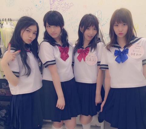 【AKB48】永尾まりや(21)のセーラー服姿可愛過ぎwww