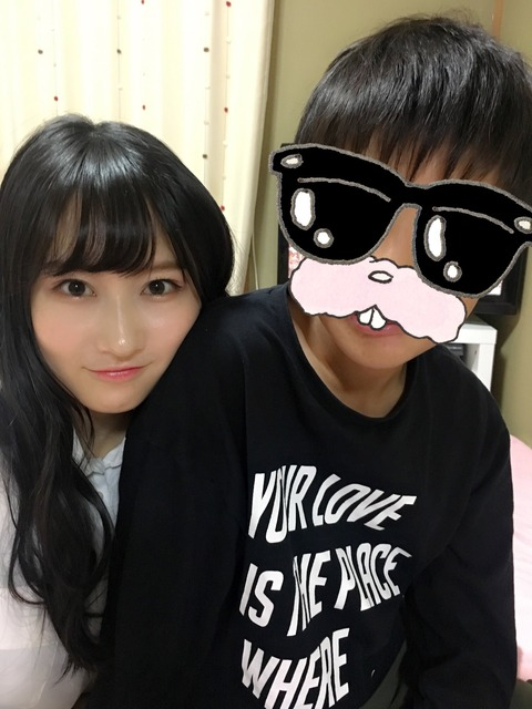 【NMB48】ふぅちゃんが男に寄り添う画像が流出www【矢倉楓子】