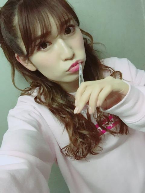 【NMB48】吉田朱里「裸眼すっぴんだと私の目はこんな感じ」