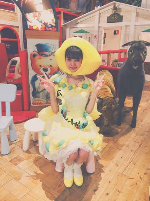 【NMB48】市川美織の「うたのお姉さん(レモンちゃん)」がまさに天職!