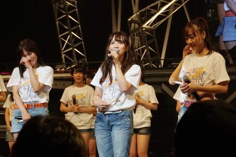 NMB48は山本彩が卒業、乃木坂46は西野七瀬が卒業、欅坂46は今泉佑唯が卒業