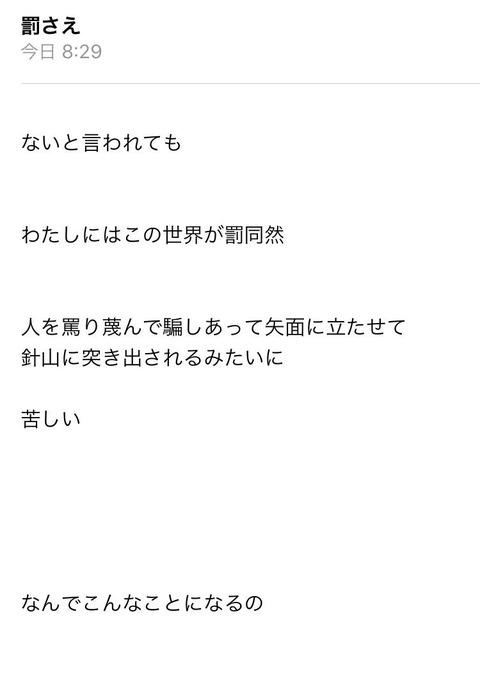 【NGT48】自称炎上アイドルの中井りか、誰にも相手にされずポエム砲発動www