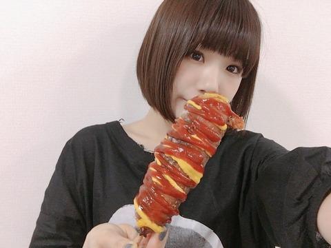 【NMB48】水田詩織が作ったチーズドッグの再現度がかなり高い
