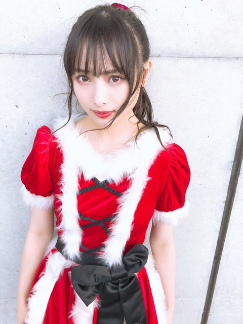【画像】AKB48Gメンバーのサンタコスを集めるスレ