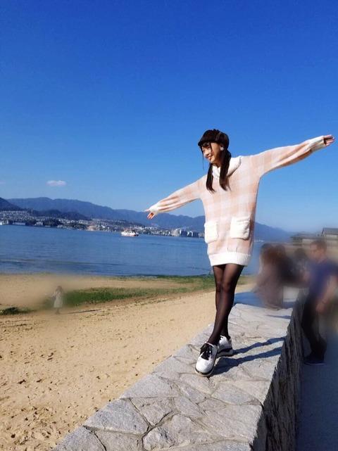 【STU48】福田朱里ちゃんの脚ってむちゃくちゃ綺麗だよな