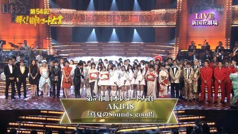日本レコード大賞候補発表【KFC】