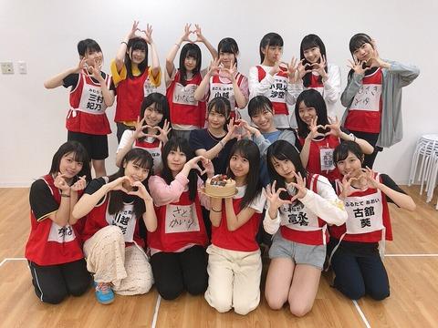 【悲報】NGT48研究生の集合写真に上級研究生の加藤美南がいないwwwwww
