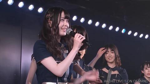 【AKB48】大川莉央が劇場公演にて卒業発表