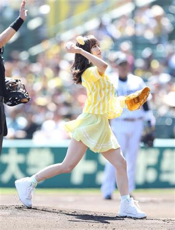 【朗報】さや姉が今年も始球式で黒パンツ公開【NMB48・山本彩】