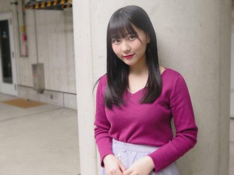 【HKT48】田中美久ちゃん、普通の服を着てるだけなのにエロさが隠せなくなってしまう(*´Д`)ハァハァ