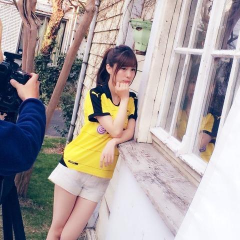 【朗報】AKB48小嶋菜月が「サッカーゲームキング」の表紙に!!!