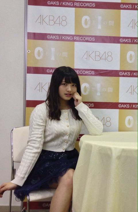 【AKB48】写メ会の大和田南那さんをご覧ください【画像】