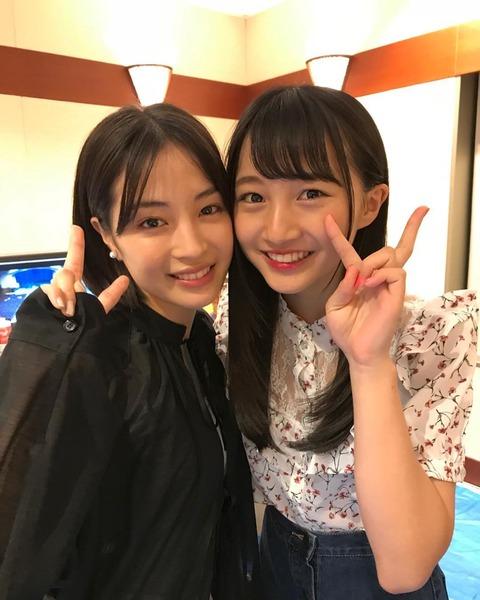【NMB48】山本彩加と広瀬すずのツーショットキタ━━━(゚∀゚)━━━!!