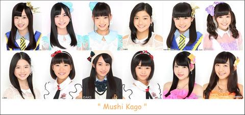 【AKB48】初期のユニットが全て解散して虫シリーズだけが残ったな