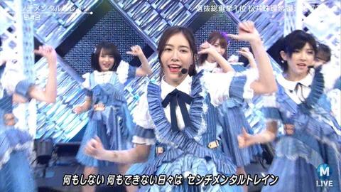 【AKB48】松井珠理奈さんセンターのセンチメンタルトレインは結局Mステで一回キリだったんですか?