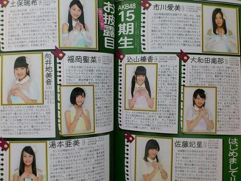 【AKB48】だいぶ卒業したからそろそろ16期オーディションをしよう